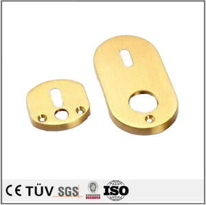 High quality sheet metal fabrication zinc plated sheet metal parts
