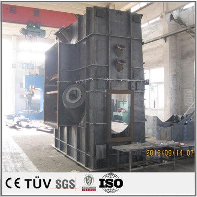 自動化溶接設備.大型、台座、箱の製作