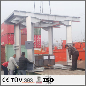 Large mechanical structural parts welding processing, large welding processing
