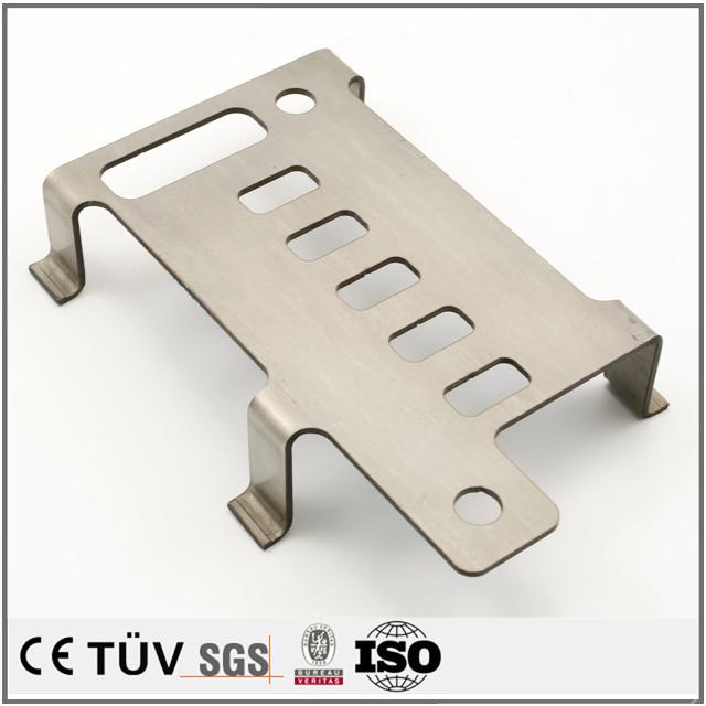Aluminum cutting fabrication thick plate bending edges sheet metal parts
