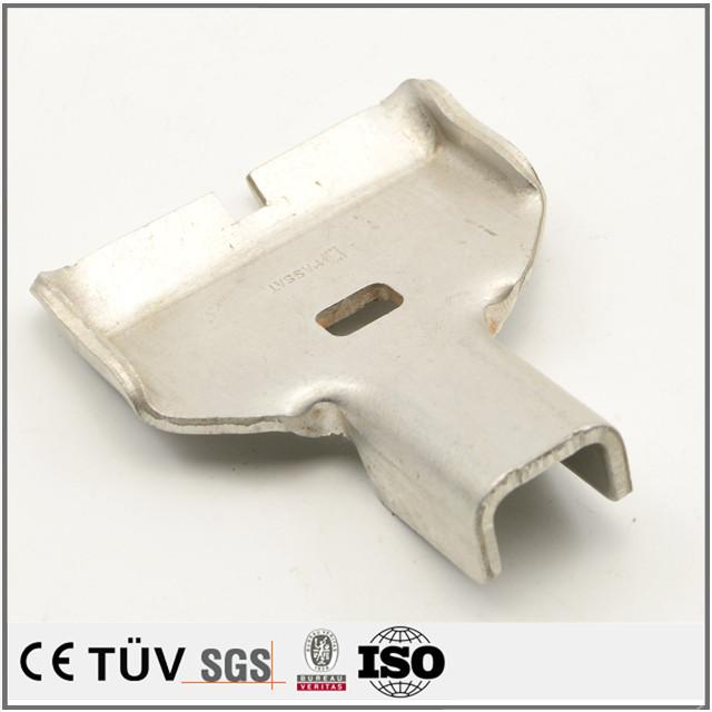 Sheet metal flat CNC metal forming SPCC sheet metal parts