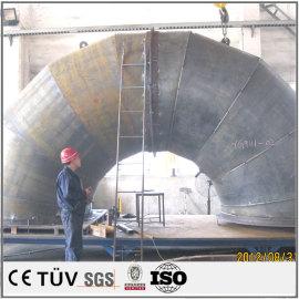 シート溶接 熱処理 大型構造部品溶接 NC旋盤 ラック台加工
