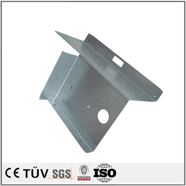 Custom anodized clip metal bending high quality perforated aluminum plate sheet form machining parts