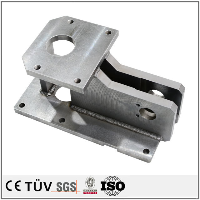 Experienced custom manual metal-arc welding fabrication service machining parts