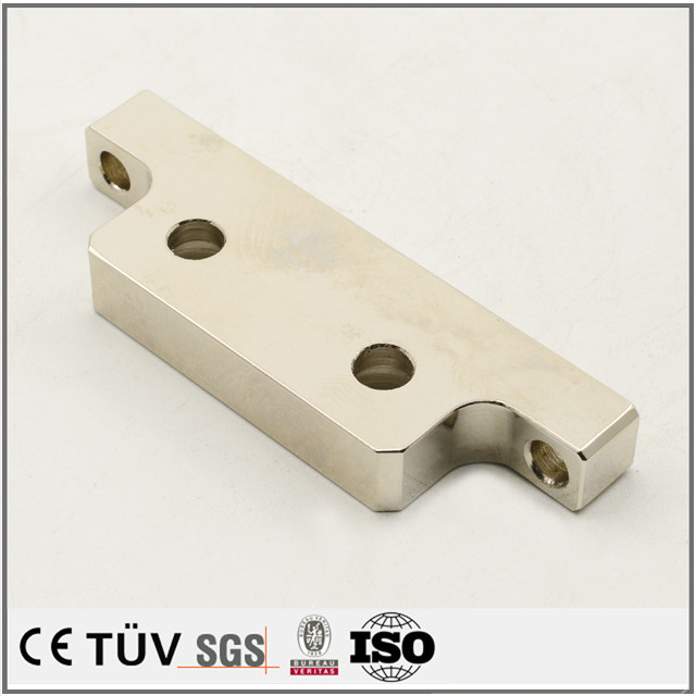 Professional made electro nickelling service machining parts