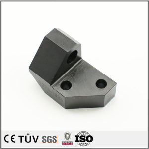 Custom black oxide service machined part