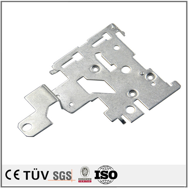 Zinc plating steel deep drawing stainless steel parts and aluminum deep drawn component