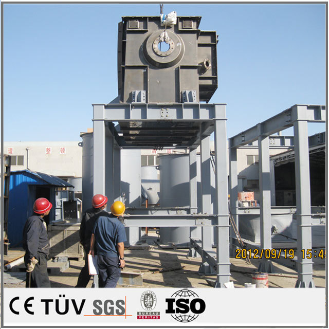 Large metal welding processing, steel structure welding