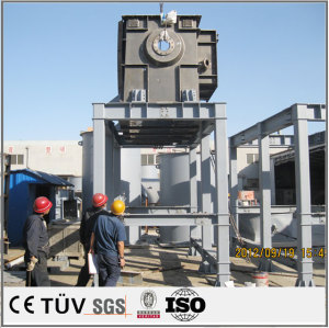 Large metal welding processing, steel structure welding