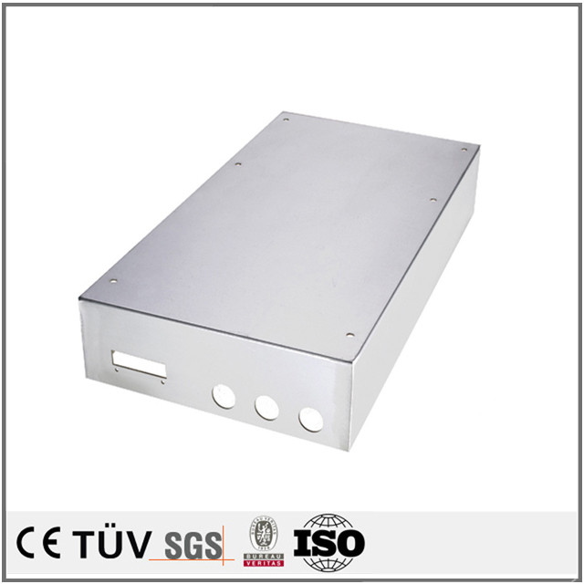 Custom precision aluminum bending sheet metal thin sheet metal fabrication generator enclosure parts