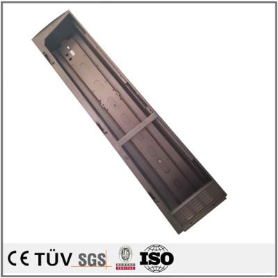 溶接部材 アルミニウム合金部材を溶接し、鋼材を溶接加工