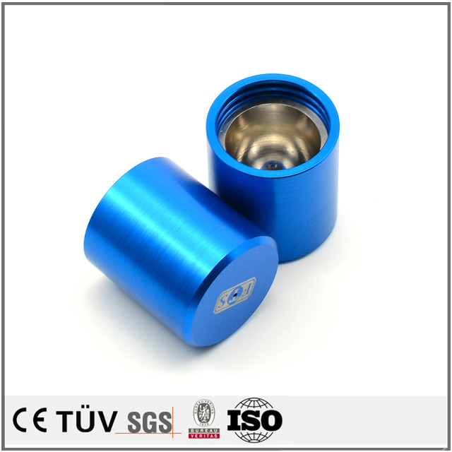 Professional custom anodizing services machining part