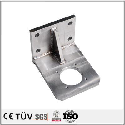 小型精密溶接加工部品/ss400材とS45材の小型精密溶接加工部品/印刷機用ss400材とS45の用小型精密溶接加工部品
