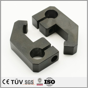 High precision customized zinc plating-black fabrication services machining parts