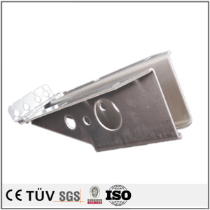 Aluminum sheet metal stamping welding plate parts