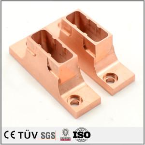 High precision C1020, C2081 copper CNC processing