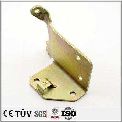 高精密钣金折弯加工工艺,镀彩锌表面处理