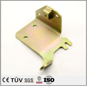 High precision sheet metal bending process, color zinc plating surface treatment