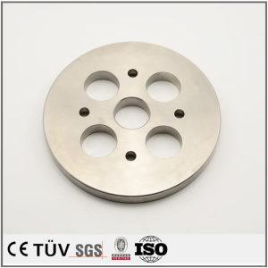 旋盤五軸連動加工機、鋼材、包装機用機加工部品