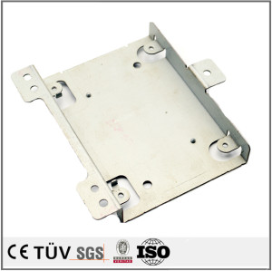 Stainless machining blank plate aluminum drawing case deep drawn components