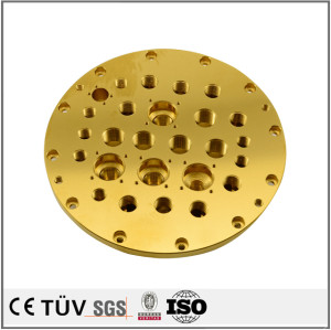 Made in China OEM made plating titanium fabrication parts