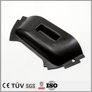 High precision stamping sheet metal parts, black dyeing surface treatment