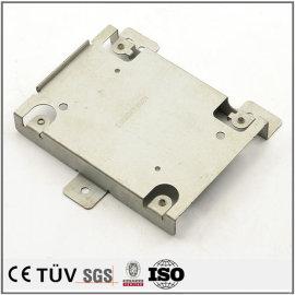 金属設備部品の精密板金加工