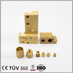 黄铜件精密CNC加工工艺