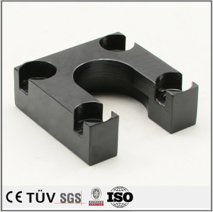 Custom black oxide fabrication services machining components