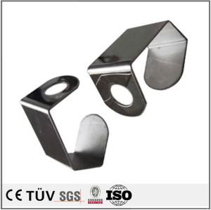 CNC roll bending service metal panel bender part