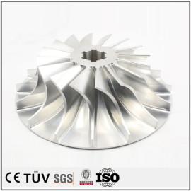 铝制品五轴加工一次成型