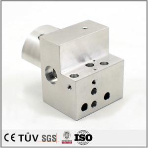 New design high precision CNC machining center lathe processing aluminum parts