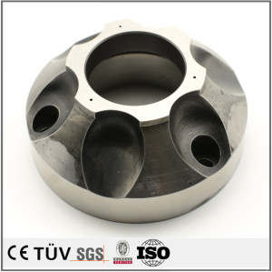 Precision steel CNC machining parts with quenching fabrication service