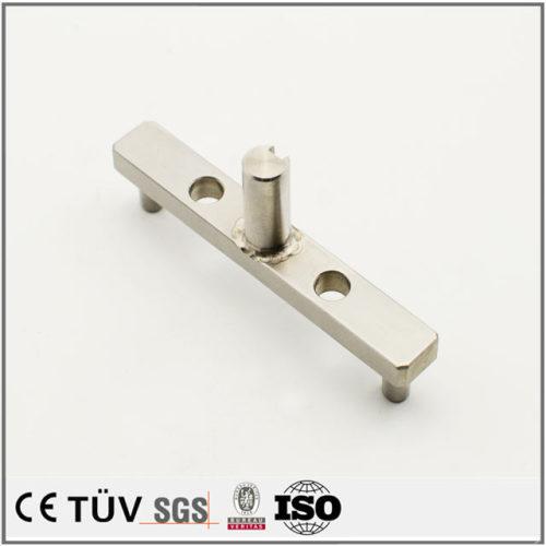 自動化対応、ステンレス部材小型溶接部品