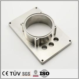SUS304、マシニング加工、フライス盤加工の精密機械部品