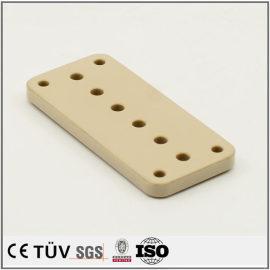Precision custom made PEEK drilling fabrication service machining parts