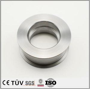 材質SS400、旋盤加工、外径加工、内径加工、金属切断