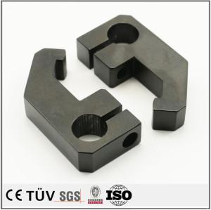 Q235材質、黒色ZNメッキ処理、自動化設備パーツ
