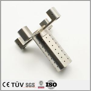 SUS316材質、表面バフ処理、産業機器の部品