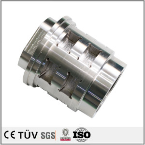 Professional CNC turning and milling composite machining carbon steel parts used in packing machines