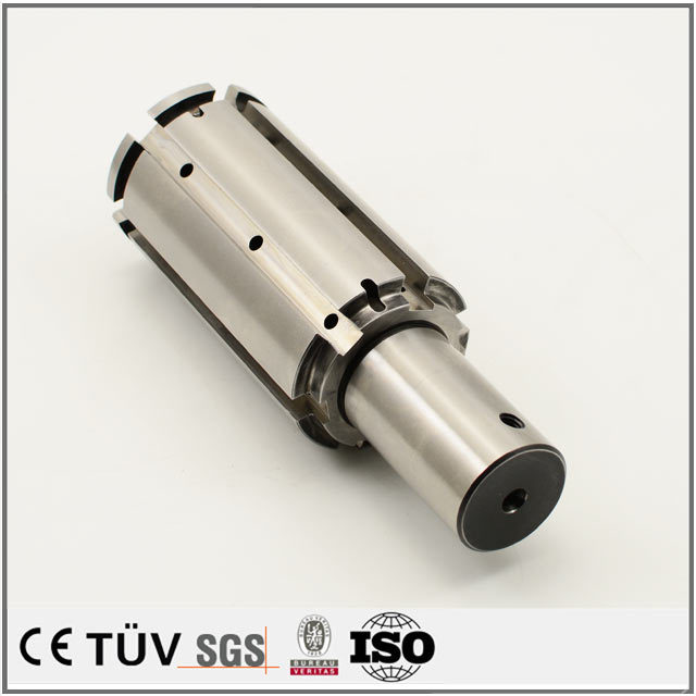 CNC turning and milling composite service machining carbon steel parts