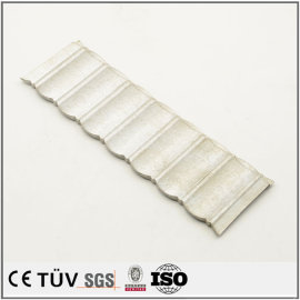 Aluminum CNC laser cutting service China expanded sheet metal parts