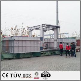 大型産業用支柱溶接加工