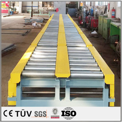 大型産業用物品輸送設備の高品質溶接加工