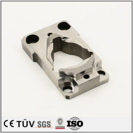 Brilliant customized carbon steel CNC milling fabrication parts