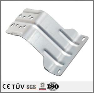 Aluminum plate bending cutting fabrication parts