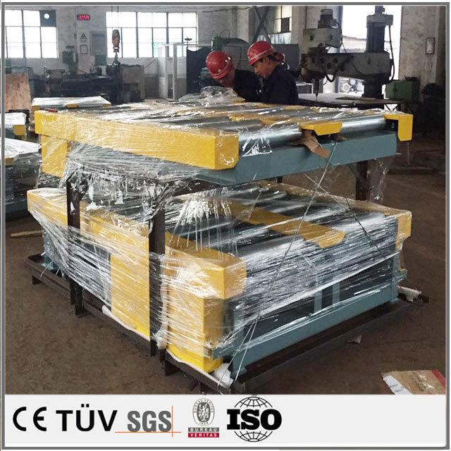 大型産業用物品輸送設備ロットカスタム加工