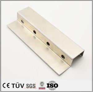 アルミ、鋼材質,曲げ板金構造部品
