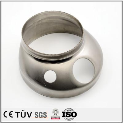 SUS304鋼材、板金曲げ、プレス加工