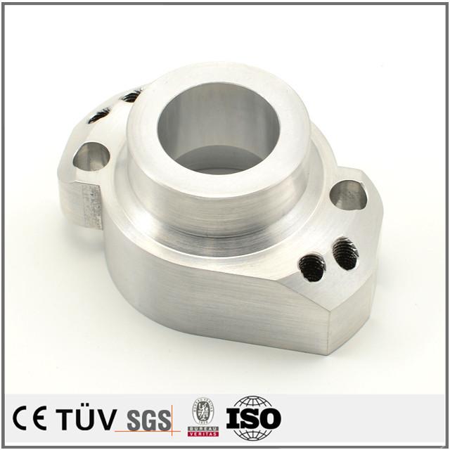 アルミ材質、NC旋盤、マシニングセンタマシン加工、表面研磨処理